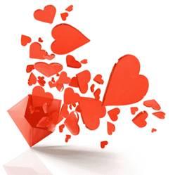 Šodien tikai ar mīlestību par mīlestību. Valentīndienas pantiņi.