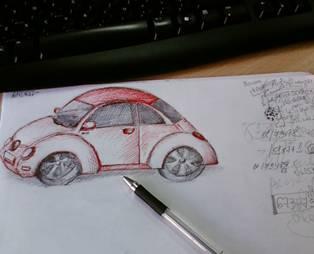 Par ko liecina zīmējumi uz lapas malām?