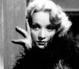 Marlene Dietrich  - dekadences karaliene